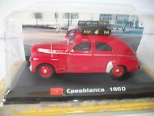 1960 Casablanca Peugeot 203 1/43 Taxi Of The World