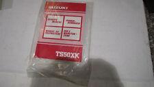 Fahrer Handbuch Bedienungsanleitung  Suzuki   TS50XK  Bj 91