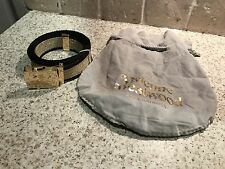 GOLD AND BLACK VIVIENNE WESTWOOD ACCESSORIES WAIST BELT LADIES FREE POSTAGE L@@K