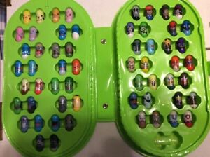 Vintage Mighty Beanz Pokemon Complete Collection (All 58 Beans) - Retired - VHTF