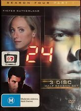 24 : Season 4 : Part 1 (DVD, 2005, 3-Disc Set)   BRAND NEW & SEALED