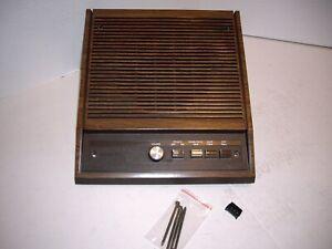 NuTone IS-408D 8 Inch Woodgrain Walnut Inside Speaker Room Station