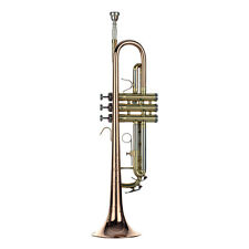 Top Quality HUNKY BUNKY HB Trumpet Rose Brass plus Yellow Brass Body and finish