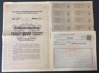 Société Métallurgique Russo-Belge Share Cerificate 1911