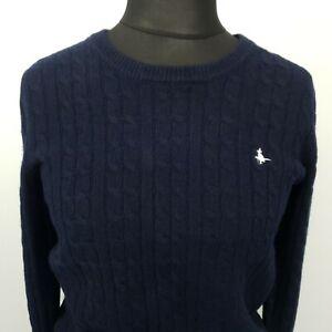 Jack Wills Womens   Pullover UK 14  MERINO WOOL Sweater Jumper