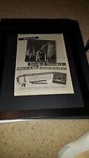 Gillan Double Trouble Rare Original UK Promo Poster Ad Framed!