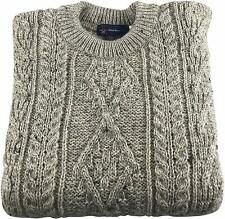 Gents Pure British Wool Skiddaw Arran Jumper - Made in the Great Britain