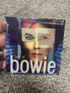 Best of David Bowie ~ 5-song promo sampler CD ~ [Fame,Golden Years, ect.]