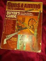 Guns & Ammo 1975 Annual Firearms Catalog  Manufacturer's Directory Buyer's Guide