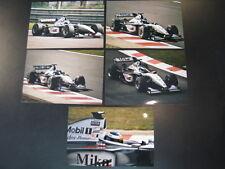 Photo West McLaren Mercedes MP4/14 1999 #1 Mika Hakkinen (FIN) GP Belgium 5x