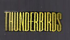 1980's Carolina Winston-Salem Thunderbirds Hockey Club Logo Patch ECHL