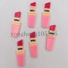 10pcs nice Resin lipstick FlatBack Appliques/Christmas DIY Scrapbooks crafts