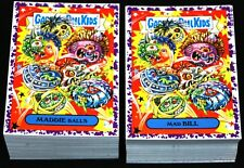 2019 GARBAGE PAIL KIDS WE HATE THE 90'S PURPLE JELLY COMPLETE SET 220 CARDS RARE