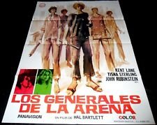 The Sandpit Generals ORIGINAL SPAIN '73 POSTER Wild Pack Jorge Amado JANO Art!