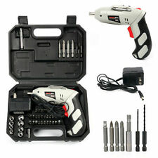 Cordless Drill Driver Rechargeable Electric Screw Drill Repair Tools Set Kit