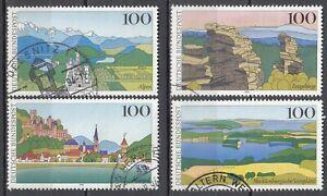 BRD 1994 Mi. Nr. 1742-1745 Gestempelt LUXUS!!!