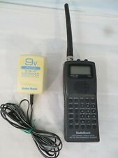 RADIO SHACK PRO-64 HYPERSCAN SCANNER RECEIVER With CHARGER UHF VHF 400 CHANNEL