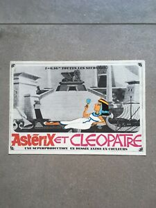ASTERIX ET CLEOPATRE - FILM -GOSCINY & UDERZO- RARE DOSSIER DE PRESSE