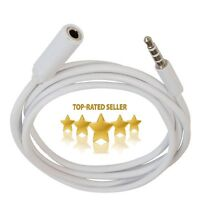 3.5mm Male to Female Stereo Audio Extender Extension Cable Cord For Headphone