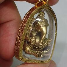 Ganesha Anhänger Statue Messing Hindu Gott Ganesh Segen Skulptur Religiöse neu