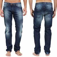 Diesel Herren Regular Slim Fit Jeans - Darron 0801Z - W28 / W29 - L34