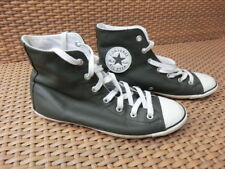 Converse, graue Leder Chucks in Gr. 37,5 bzw. UK 4,5