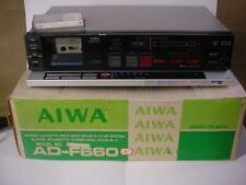VINTAGE AIWA F-660 CASSETTE DECK AD-F660 U