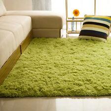 Fluffy Rugs Anti-Skid Shaggy Area Rug Dining Room Home Carpet Floor Mat 80X120CM