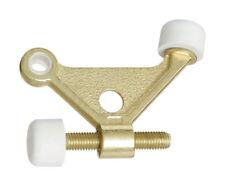 National Hardware  Die Cast  Hinge Pin Door Stop  Brass