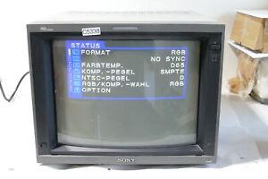 Sony HR-Trinitron PVM-14L4 Color Video Gaming Editing Monitor Retro (C5338-R68)