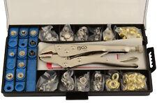 Bgs 572 Juego de ojales, remaches y broches botones de presion