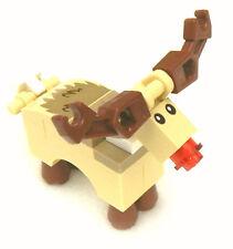 NEW LEGO RUDOLPH MINIFIG reindeer figure minifigure 10245 christmas rudolf toy