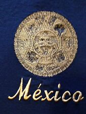 VINTAGE MEXICO EMBROIDERED T SHIRT LARGE