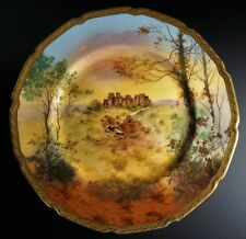 Royal Doulton Hand Painted Signed Plate of Dover Castle