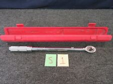 """PROTO TORQUE WRENCH 6016OX 30-150 FT/LB 1/2"""" DRIVE TOOL PRECISION CAL EXP AUG 18"""