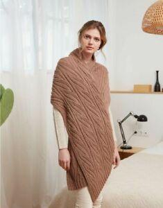 8208 DK Ladies Scarf Hayfield Sirdar Knitting Pattern