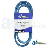 """BLUE 3L330K 3L-SECTION MADE WITH KEVLAR 3//8/"""" X 33/"""" V BELT"""