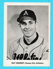 1959 Jay Publishing 5x7 picture Roy Hebert Kansas City Athletics A's (KCR)