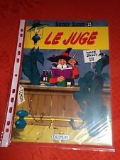 le juge LUCKY LUKE 13 collection Total 1969 TBE