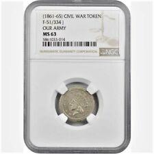 51/334j Rarity-7. German Silver. Plain Edge. Ms-63 (Ngc)