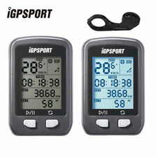 IGPSPORT IGS20E Cycle GPS Speedometer Bicycle Bike Computer USB Recharge Black