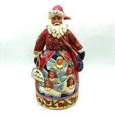 Jim Shore Heartwood Creek Hark! The Herald Angels Sing Santa 4025796