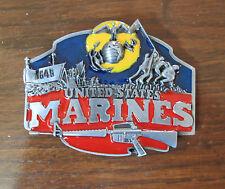 United States US Marines Belt Buckle