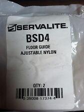 Nylon Adjustable Door Floor Guide Pack Of 2