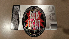 Super Cool Coors Red Light Beer Label - Mint!