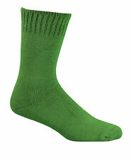 Bamboo Textiles Extra Thick Socks Mens 10-14 Green