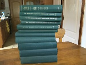NATIONAL PIG BREEDERS ASSOCIATION HERD BOOKS 1955 TO 1965 11 VOLUMES