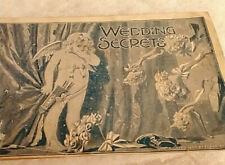 "1895 ""Wedding Secrets"" Best Tonic Pabst Brewing Co. Advertising Pamphlet"
