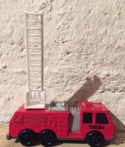 Vintage Tonka Fire Engine 🚒 Truck Red Excellent Condition  1992 🔥