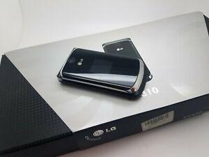 Working New/Old Stock Boxed LG KC810 Black (Unlocked) Mobile Flip Phone